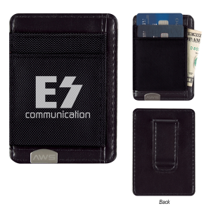 Executive RFID Money Clip Card Holder